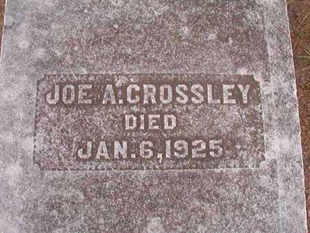CROSSLEY, JOE A - Ouachita County, Louisiana | JOE A CROSSLEY - Louisiana Gravestone Photos