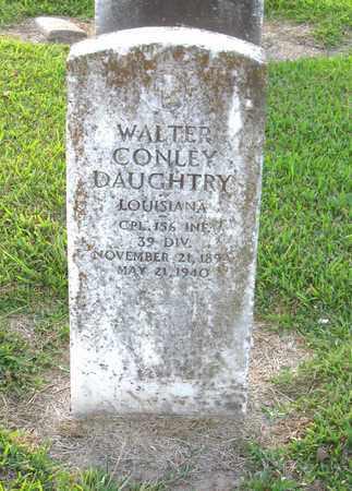 DAUGHTRY, WALTER CONLEY (VETERAN) - Ouachita County, Louisiana   WALTER CONLEY (VETERAN) DAUGHTRY - Louisiana Gravestone Photos