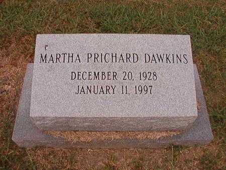 DAWKINS, MARTHA - Ouachita County, Louisiana | MARTHA DAWKINS - Louisiana Gravestone Photos