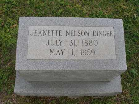 NELSON DINGEE, JEANETTE - Ouachita County, Louisiana | JEANETTE NELSON DINGEE - Louisiana Gravestone Photos
