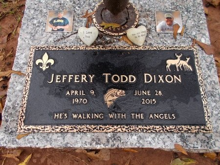 DIXON, JEFFERY TODD (OBIT) - Ouachita County, Louisiana | JEFFERY TODD (OBIT) DIXON - Louisiana Gravestone Photos