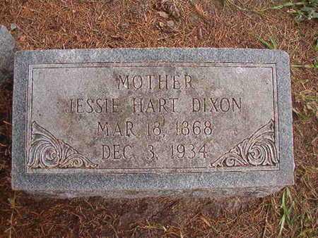 HART DIXON, JESSIE - Ouachita County, Louisiana   JESSIE HART DIXON - Louisiana Gravestone Photos