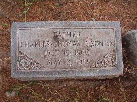 DIXON, CHARLES THOMAS, SR - Ouachita County, Louisiana | CHARLES THOMAS, SR DIXON - Louisiana Gravestone Photos