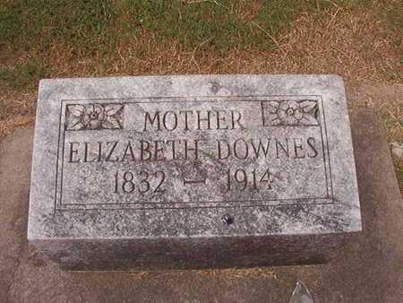 DOWNES, ELIZABETH - Ouachita County, Louisiana | ELIZABETH DOWNES - Louisiana Gravestone Photos