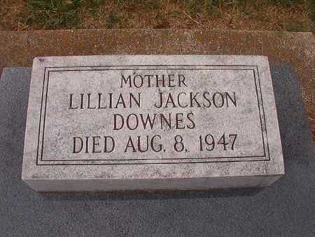 JACKSON DOWNES, LILLIAN - Ouachita County, Louisiana | LILLIAN JACKSON DOWNES - Louisiana Gravestone Photos