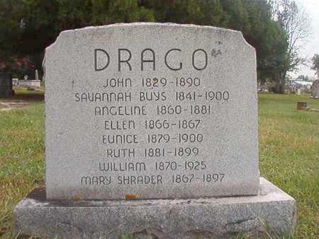 DRAGO, ANGELINE - Ouachita County, Louisiana | ANGELINE DRAGO - Louisiana Gravestone Photos