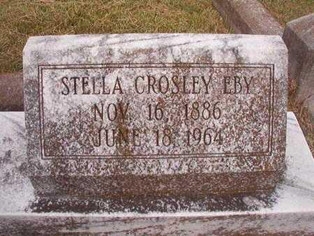 CROSLEY EBY, STELLA - Ouachita County, Louisiana | STELLA CROSLEY EBY - Louisiana Gravestone Photos
