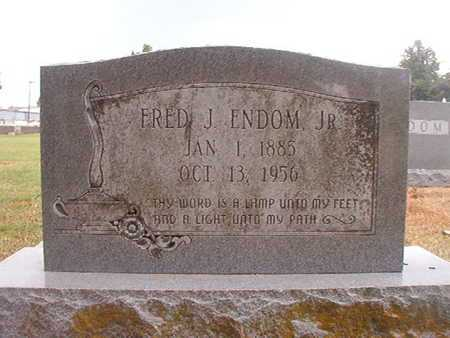 ENDOM, FRED J, JR - Ouachita County, Louisiana | FRED J, JR ENDOM - Louisiana Gravestone Photos