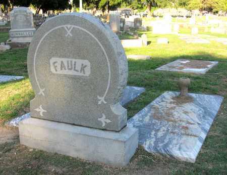 FAULK, FAMILY MARKER - Ouachita County, Louisiana | FAMILY MARKER FAULK - Louisiana Gravestone Photos