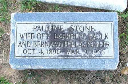 STONE FAULK, PAULINE - Ouachita County, Louisiana | PAULINE STONE FAULK - Louisiana Gravestone Photos