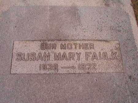 WILLIAMS FAULK, SUSAN MAY - Ouachita County, Louisiana | SUSAN MAY WILLIAMS FAULK - Louisiana Gravestone Photos