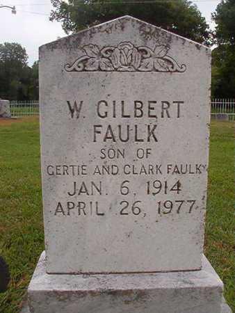 FAULK, WILLIAM GILBERT - Ouachita County, Louisiana   WILLIAM GILBERT FAULK - Louisiana Gravestone Photos
