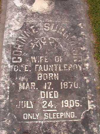 FAUNTLEROY, CORRINNE - Ouachita County, Louisiana | CORRINNE FAUNTLEROY - Louisiana Gravestone Photos