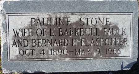 STONE FAULK, JANE PAULINE - Ouachita County, Louisiana | JANE PAULINE STONE FAULK - Louisiana Gravestone Photos