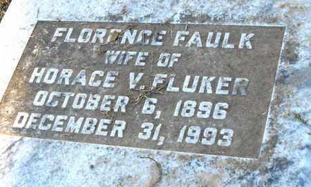 FLUKER, FLORENCE (CLOSE UP) - Ouachita County, Louisiana | FLORENCE (CLOSE UP) FLUKER - Louisiana Gravestone Photos