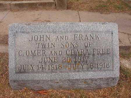 FREE, JOHN - Ouachita County, Louisiana | JOHN FREE - Louisiana Gravestone Photos