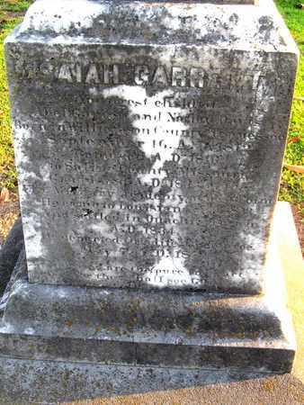 GARRETT, ISAIAH, SR (CLOSE UP) - Ouachita County, Louisiana | ISAIAH, SR (CLOSE UP) GARRETT - Louisiana Gravestone Photos