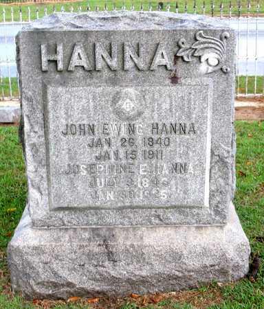 HANNA, JOHN EWING (VETERAN CSA) - Ouachita County, Louisiana | JOHN EWING (VETERAN CSA) HANNA - Louisiana Gravestone Photos