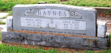 YOUNG HAYNES, MAGGIE - Ouachita County, Louisiana | MAGGIE YOUNG HAYNES - Louisiana Gravestone Photos
