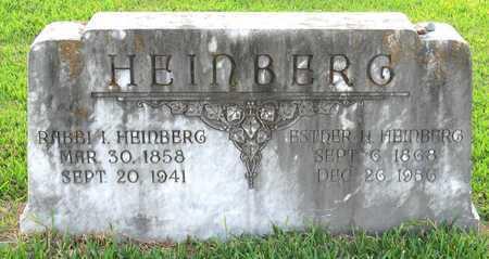 HEINBERG, ISRAEL, RABBI - Ouachita County, Louisiana   ISRAEL, RABBI HEINBERG - Louisiana Gravestone Photos
