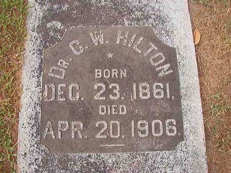 HILTON, DR, C W - Ouachita County, Louisiana | C W HILTON, DR - Louisiana Gravestone Photos