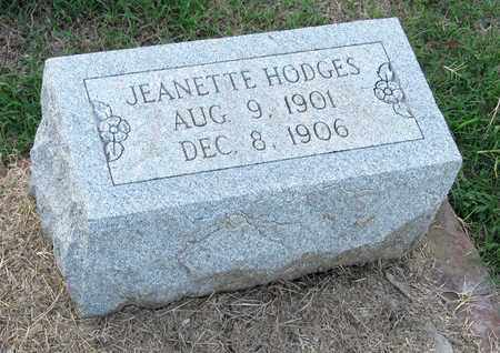 HODGES, JEANETTE - Ouachita County, Louisiana | JEANETTE HODGES - Louisiana Gravestone Photos