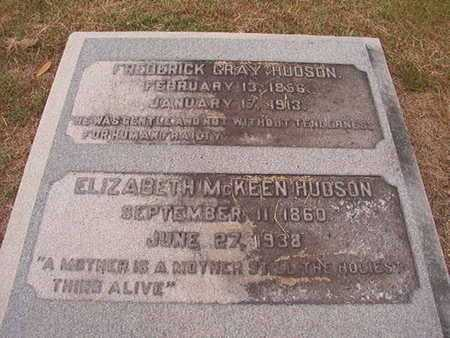 HUDSON, FREDERICK GRAY - Ouachita County, Louisiana | FREDERICK GRAY HUDSON - Louisiana Gravestone Photos