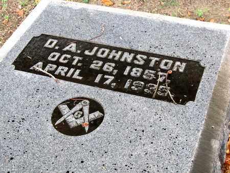 JOHNSTON, D A (CLOSE UP) - Ouachita County, Louisiana | D A (CLOSE UP) JOHNSTON - Louisiana Gravestone Photos