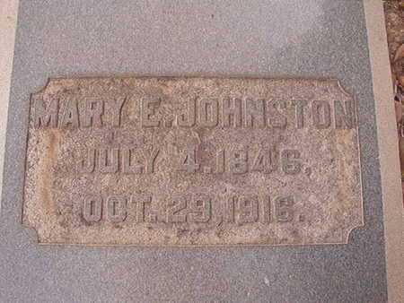JOHNSTON, MARY E - Ouachita County, Louisiana | MARY E JOHNSTON - Louisiana Gravestone Photos