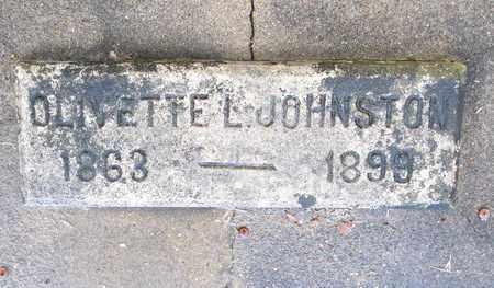 JOHNSTON, OLIVETTE L - Ouachita County, Louisiana   OLIVETTE L JOHNSTON - Louisiana Gravestone Photos
