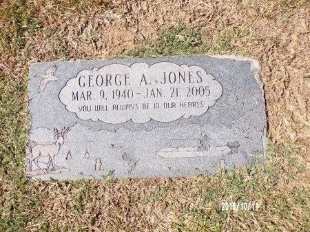 JONES, GEORGE A - Ouachita County, Louisiana | GEORGE A JONES - Louisiana Gravestone Photos