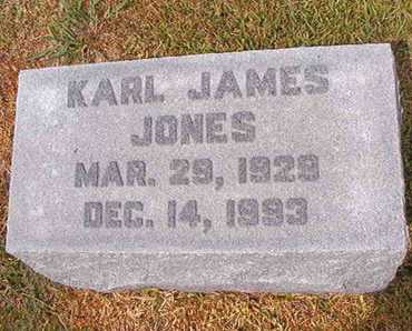 JONES, KARL JAMES - Ouachita County, Louisiana | KARL JAMES JONES - Louisiana Gravestone Photos