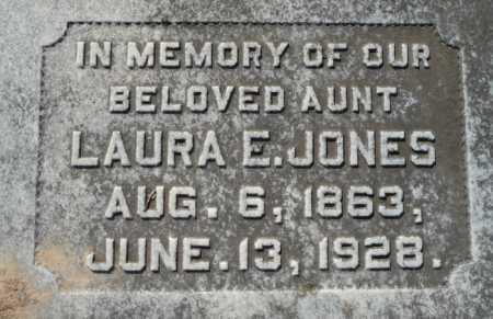 JONES, LAURA E - Ouachita County, Louisiana   LAURA E JONES - Louisiana Gravestone Photos