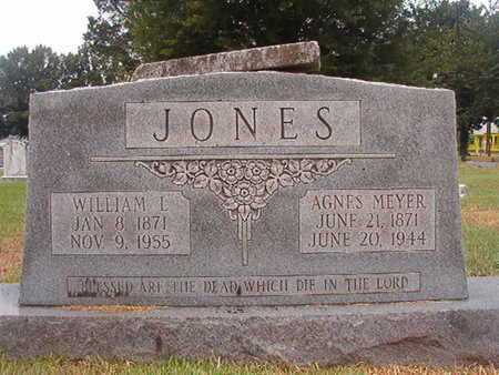 JONES, AGNES - Ouachita County, Louisiana | AGNES JONES - Louisiana Gravestone Photos