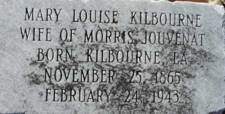 KILBOURNE JOUVENAT, MARY LOUISE - Ouachita County, Louisiana | MARY LOUISE KILBOURNE JOUVENAT - Louisiana Gravestone Photos