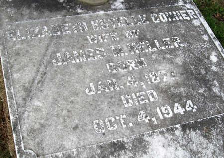 CONNER KELLER, ELIZABETH ESTELLE (CLOSE UP) - Ouachita County, Louisiana | ELIZABETH ESTELLE (CLOSE UP) CONNER KELLER - Louisiana Gravestone Photos