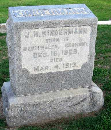 KINDERMANN, J H - Ouachita County, Louisiana | J H KINDERMANN - Louisiana Gravestone Photos