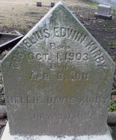 KIRBY, CORNELIUS EDWIN - Ouachita County, Louisiana | CORNELIUS EDWIN KIRBY - Louisiana Gravestone Photos