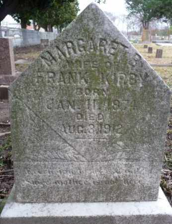 KIRBY, MARGARET B - Ouachita County, Louisiana | MARGARET B KIRBY - Louisiana Gravestone Photos