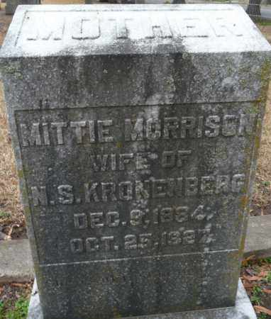 MORRISON KRONENBERG, MITTIE - Ouachita County, Louisiana | MITTIE MORRISON KRONENBERG - Louisiana Gravestone Photos