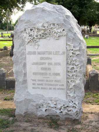 LEE, JOHN MARTIN,JR - Ouachita County, Louisiana   JOHN MARTIN,JR LEE - Louisiana Gravestone Photos