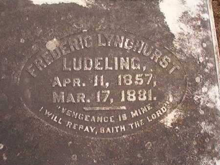 LUDELING, FREDERIC LYNDHURST - Ouachita County, Louisiana | FREDERIC LYNDHURST LUDELING - Louisiana Gravestone Photos