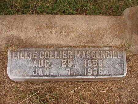 COLLIER MASSENGILL, LILLIE - Ouachita County, Louisiana | LILLIE COLLIER MASSENGILL - Louisiana Gravestone Photos