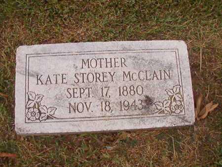 STOREY MCCLAIN, KATE - Ouachita County, Louisiana   KATE STOREY MCCLAIN - Louisiana Gravestone Photos