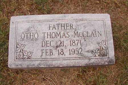 MCCLAIN, OTHO THOMAS - Ouachita County, Louisiana | OTHO THOMAS MCCLAIN - Louisiana Gravestone Photos