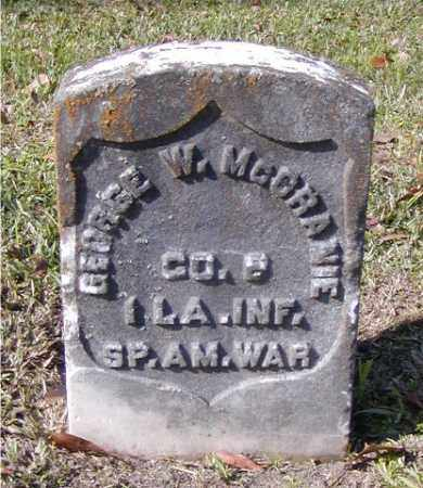 MCCRANIE, GEORGE W  (VETERAN SAW) - Ouachita County, Louisiana | GEORGE W  (VETERAN SAW) MCCRANIE - Louisiana Gravestone Photos