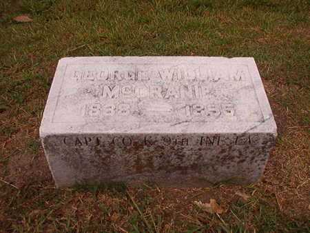 MCCRANIE, GEORGE WILLIAM (VETERAN CSA) - Ouachita County, Louisiana | GEORGE WILLIAM (VETERAN CSA) MCCRANIE - Louisiana Gravestone Photos