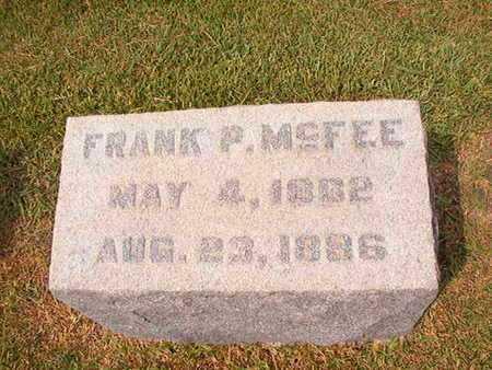 MCFEE, FRANK P - Ouachita County, Louisiana | FRANK P MCFEE - Louisiana Gravestone Photos