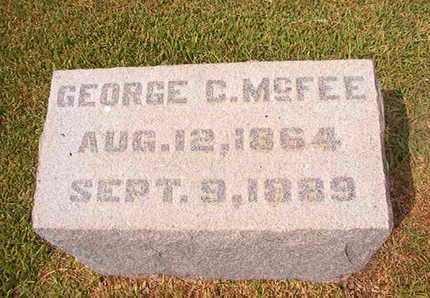 MCFEE, GEORGE C - Ouachita County, Louisiana | GEORGE C MCFEE - Louisiana Gravestone Photos