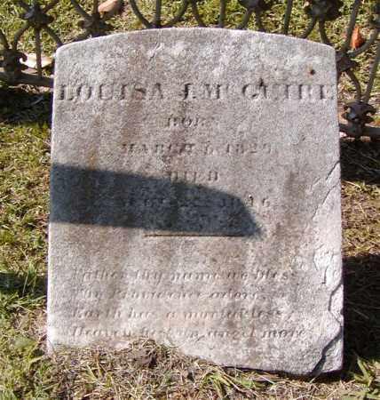 LAMY MCQUIRE, LOUISA - Ouachita County, Louisiana | LOUISA LAMY MCQUIRE - Louisiana Gravestone Photos